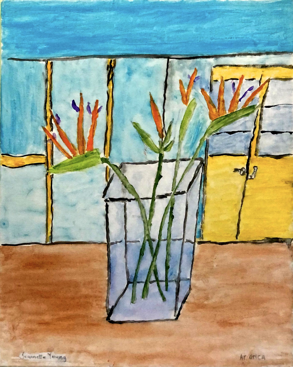 "Jeannette Y. ""Birds of Paradise"" 16 x 20"